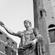 Caesar Augustus statue - Stock Photo
