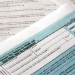 Tax forms - Foto Stock