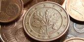 Fond de pièces de monnaie euro — Photo