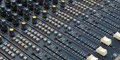 Soundboard — Foto de Stock