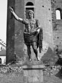Caesar Augustus statue — Stock Photo