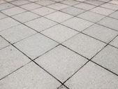 Betonový chodník dlažba — Stock fotografie