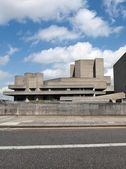 National theatre, em londres — Foto Stock