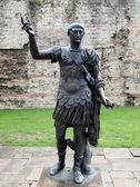 Emperor Trajan Statue — Stock Photo