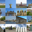 Berlin landmarks — Stock Photo