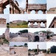 Paestum landmarks, Italy - Foto de Stock  