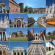Milan landmarks - Stock Photo