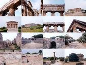 Památky paestum, itálie — Stock fotografie