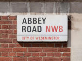 Abbey road, london, storbritannien — Stockfoto