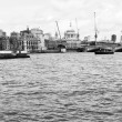 River Thames in London — Stock fotografie