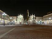 Piazza san carlo, turin — Stok fotoğraf