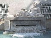 Dora Statue, Turin — Stock fotografie