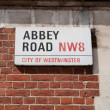 Постер, плакат: Abbey Road London UK