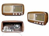 Velho estou sintonizador de rádio — Foto Stock