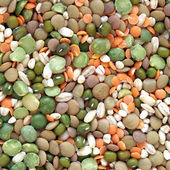 Beans salad — Stock Photo