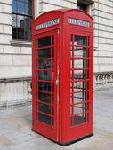 London telephone box — Stock fotografie
