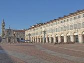Piazza san carlo, turin — Stockfoto