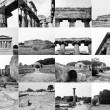 Paestum landmarks, Italy - 