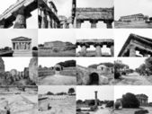 Paestum landmarks, Italy — Stock Photo