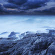 Alien sea. Long exposure shot. — Foto Stock