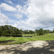 View of golf course — Stock fotografie #6240238