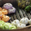 Cooking of Dim Sum — Stock Photo