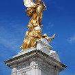 Queen victoria memorial london — Stock Photo
