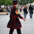 Beefeater guard - Stock Photo