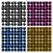 Houndstooth Plaid — Stock Vector #5605063