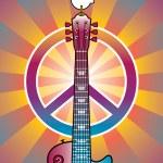 Hommage an Woodstock 2 — Stockvektor
