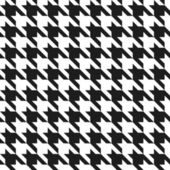 Houndstooth Pattern — Stock Vector