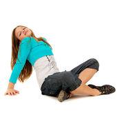Roztomilá mladá dívka — Stock fotografie