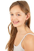 Cute young girl — Stockfoto