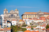Old city center of Porto city - portugal western europe, atlantic coast — Stock Photo