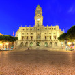 Stockfoto: City hall of Porto, Portugal
