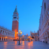 Belfry on st. Marks square — Stock Photo