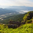 Beautiful mountains landscape - Caucasian mountains — Stock Photo