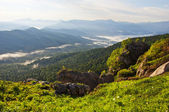 Krásné hory krajina - kavkazské hory — Stock fotografie