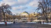 Centrala moskva — Stockfoto
