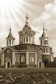 Church in russia. At Kolomna kremlin — Stock Photo