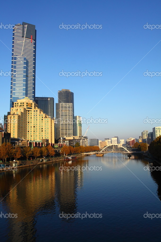 Melbourne Australia  Stock Photo #5629306
