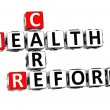 3D Health Care Reform Crossword — Foto Stock #6505135
