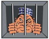 Convict — Stock Vector