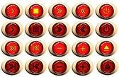 Button set — Stock Vector