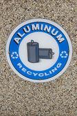 Aluminium Recycling — Foto Stock