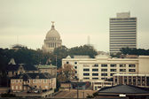 Jackson, missisipi - vintage panorama — Zdjęcie stockowe