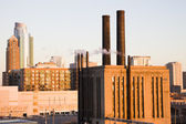 Industrial Building in the center of South Loop — Stock Photo