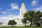 Lincoln, Nebraska - State Capitol Building — Stock Photo