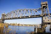 Pedestrian Bridge in Little Rock — Stock Photo