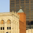 Stok fotoğraf: Old and new buildings in downtown Louisville